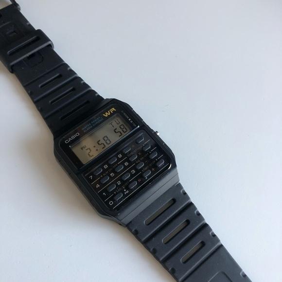 Casio Twincept Databank Watch (CA53W-1) NWOT